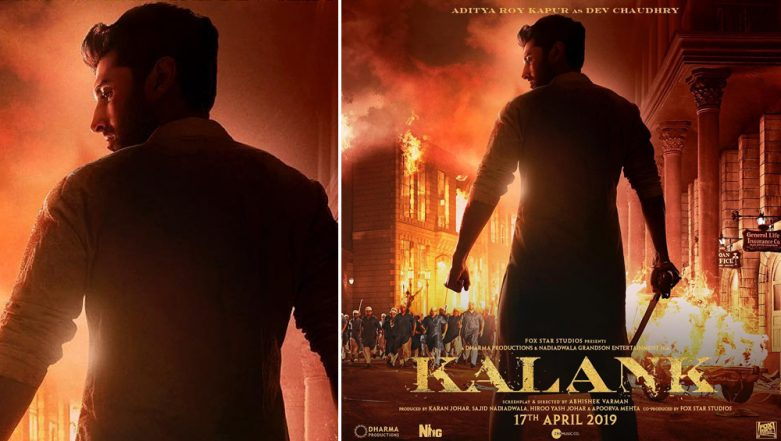 Kalank: Aditya Roy Kapur Looks Brave But Noble in This New Poster From His Next