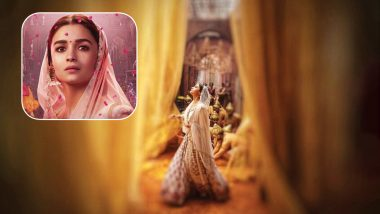 Kalank Song Ghar More Pardesiya: Alia Bhatt Shares a Beautiful Still, a Song That Made Her Nervous! See Pic