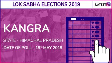 KangraLok Sabha Constituency Result 2019 in Himachal Pradesh: Kishan Kapoor of BJP Wins Parliamentary Election