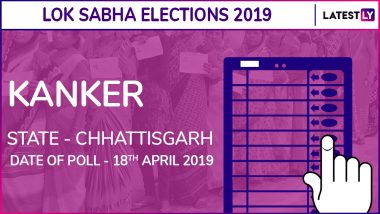 Kanker Lok Sabha Constituency in Chhattisgarh Results 2019: BJP Candidate Mohan Mandavi Elected as MP