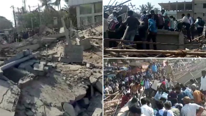 Karnataka: Under-Construction Building Collapses in Dharwad, 2 Dead, 40 Feared Trapped