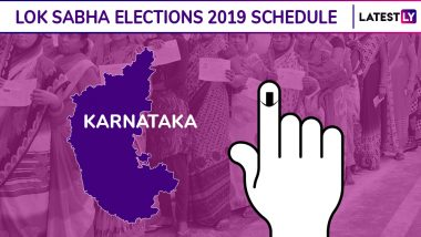 Karnataka Lok Sabha Elections 2019 Schedule: Constituency Wise Dates Of Voting And Results For Karnataka General Elections