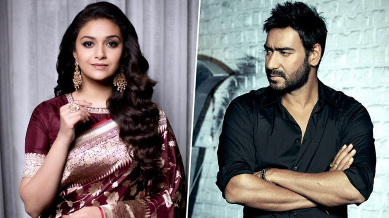 Keerthy Suresh's Bollywood Debut CONFIRMED! South Actress to Be Paired Opposite Ajay Devgn in Syed Abdul Rahim Biopic
