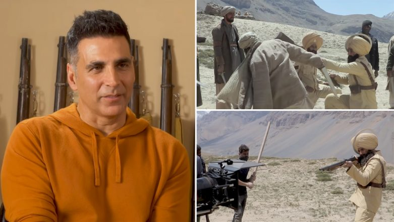 Kesari BTS Video: Akshay Kumar Reveals the Challenging Part of Recreating the Battle of Saragarhi