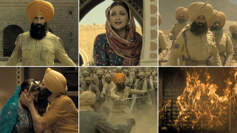 Kesari Song Teri Mitti: Akshay Kumar-Parineeti Chopra's Chemistry Stands Out in This Emotional Rendition (Watch Video)