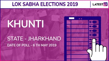 Khunti Lok Sabha Constituency Election Results 2019 in Jharkhand: BJP Candidate Arjun Munda Wins The Seat