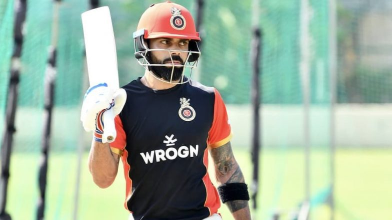 VIVO IPL 2019: Virat Kohli Begins Practice Session at M Chinnaswamy Ahead Season Opener RCB vs CSK (View Pics and Video)