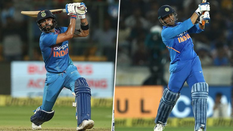 Virat Kohli-MS Dhoni Bonhomie Deepens Moving Into ICC World Cup 2019: For Indian Skipper, It's My Way and 'The Mahi Way'