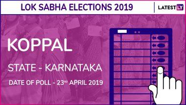 Koppal Lok Sabha Constituency in Karnataka Results 2019: BJP Candidate Karadi Sanganna Amarappa Elected MP