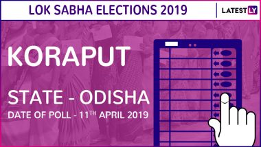 Koraput Lok Sabha Constituency in Odisha: Candidates, Current MP, Polling Date And Election Results 2019