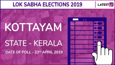 Kottayam Lok Sabha Constituency in Kerala: Candidates, Current MP, Polling Date And Election Results 2019
