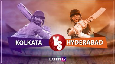 KKR vs SRH, Live Cricket Score of IPL 2019 Match: Get Live Updates of Kolkata Knight Riders vs Sunrisers Hyderabad
