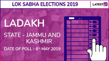 Ladakh Lok Sabha Constituency Results 2019 in Jammu and Kashmir: Jamyang Tsering Namgyal of BJP Wins Parliamentary Election