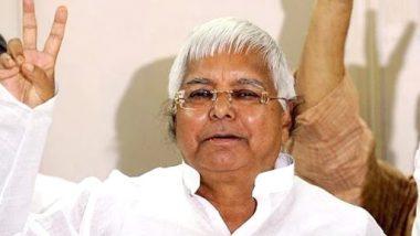 Fodder Scam: Supreme Court to Hear Lalu Prasad Yadav's Bail Plea on April 10, Asks CBI to File Reply