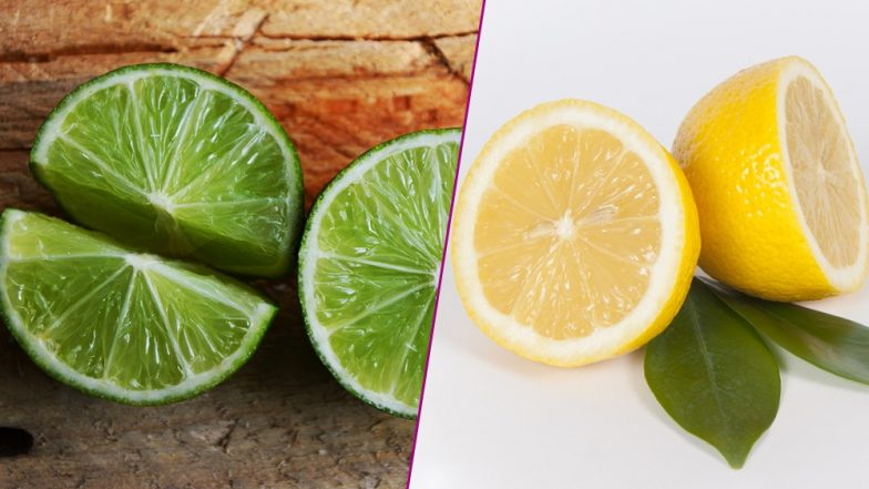 Lime and Lemon Aren't The Same! Know The Difference Between Two Citrus Fruits
