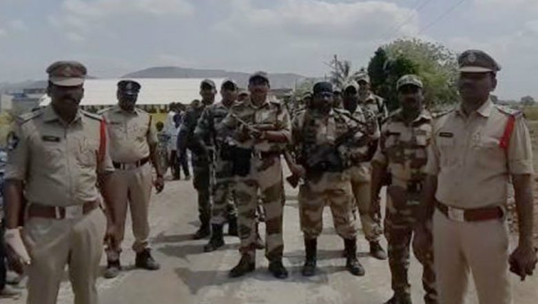 Ahead of Lok Sabha Elections 2019, Andhra Pradesh Police Conduct Flag March to Advocate for Free and Fair Elections