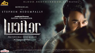 Lucifer New Poster: Mohanlal's Fierce Look Will Leave You Intrigued! - View Pic