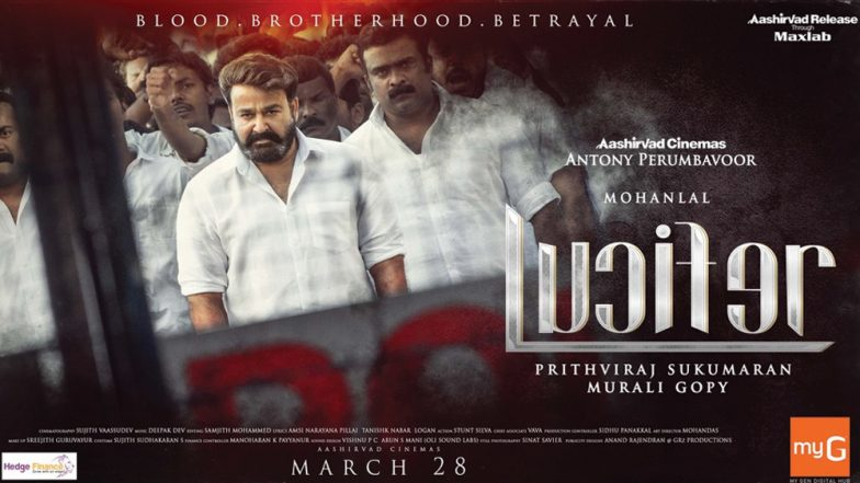 Lucifer Trailer: Mohanlal Steals The Show With His Intense Gaze and Power-Packed Dialogue (Watch Video)