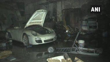 Mumbai: 6 Luxury Cars, Including Porsche & Mercedes, Gutted in Fire Near Mahalakshmi Railway Station