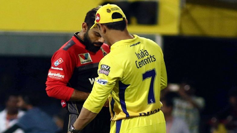 VIVO IPL 2019, RCB vs CSK: MS Dhoni, Virat Kohli Unhappy with the Quality of Chepauk Track