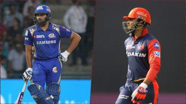 MI vs DC Head-to-Head Record: Ahead of IPL 2019 Clash, Here Are Match Results of Last 5 Mumbai Indians vs Delhi Capitals Encounters!
