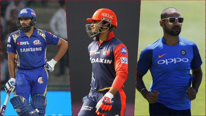 MI vs DC, IPL 2019 Match 3, Key Players: Rohit Sharma to Shreyas Iyer to Shikhar Dhawan, These Cricketers Are to Watch Out for at Wankhede Stadium