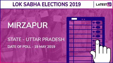 Mirzapur Lok Sabha Constituency in Uttar Pradesh Results 2019: Anupriya Singh Patel of Apna Dal (Soneylal) Wins Parliamentary Election