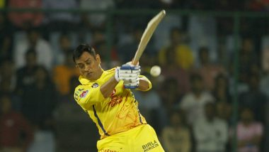 MS Dhoni Slams a Towering Six Which Lands on The Streets of Sharjah During RR vs CSK, IPL 2020, Passer-By Walks Away With the Ball (Watch Video)