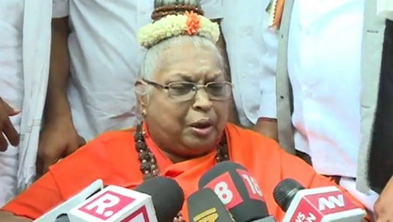 Maate Mahadevi, Basava Dharma Peetha President & Top Lingayat Pontiff Dies in Bengaluru