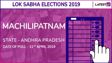 Machilipatnam Lok Sabha Constituency in Andhra Pradesh Results 2019: Balashowry Vallabhaneni of YSRCP Wins Parliamentary Election