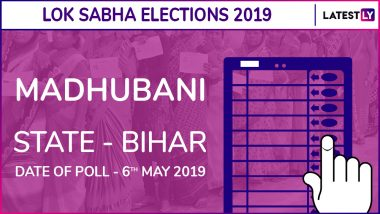 Madhubani Lok Sabha Constituency Election Results 2019 in Bihar: Ashok Kumar Yadav of BJP Wins The Seat
