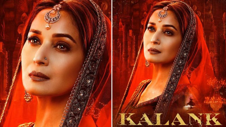 Kalank New Poster: Madhuri Dixit's Look as Bahaar Begum is Ethereal and It Proves That The Makers Saved The Best for the Last