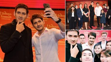 Mahesh Babu Thanks Madame Tussauds Singapore Team for Unveiling the Wax Statue in Hyderabad – See Pics