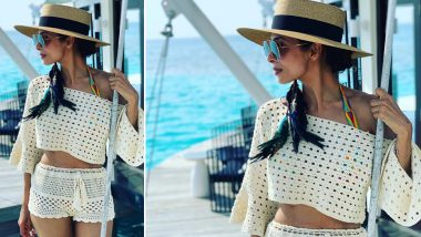 Malaika Arora's Latest Picture From Her Maldives Vacay Leaves Netizens Divided Over Her Stretch Marks