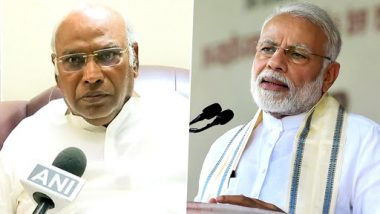 Mallikarjun Kharge Accuses PM Narendra Modi of Politicising Balakot Air Strike, Says 'Nobody is Questioning Armed Forces'