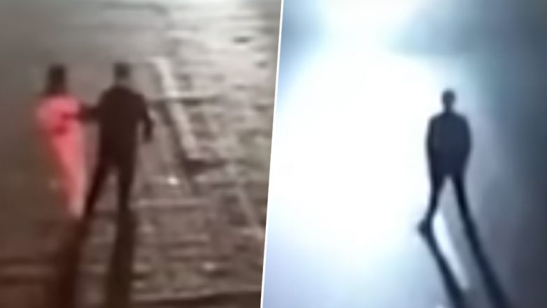 Drunk Chinese Man Tests Wife's Love by Standing on Busy Road, Gets Hit By Moving Vehicle (Watch Viral Video)