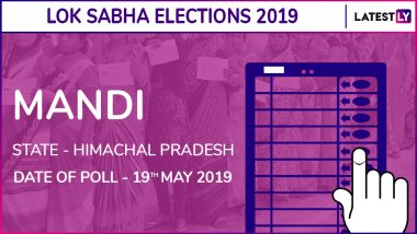 MandiLok Sabha Constituency Result 2019 in Himachal Pradesh: Ram Swaroop Sharma of BJP Wins Parliamentary Election
