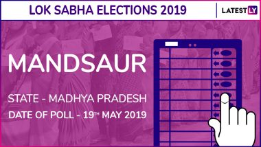 Mandsaur Lok Sabha Constituency Result 2019 in Madhya Pradesh: Sudhir Gupta of BJP Wins Parliamentary Election