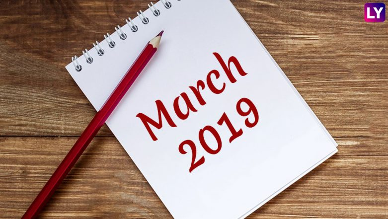 March 2019 Festivals, Events and Holiday Calendar: Maha Shivaratri to Women's Day to Holi, Know All Important Dates and List of Hindu Fasts for the Month
