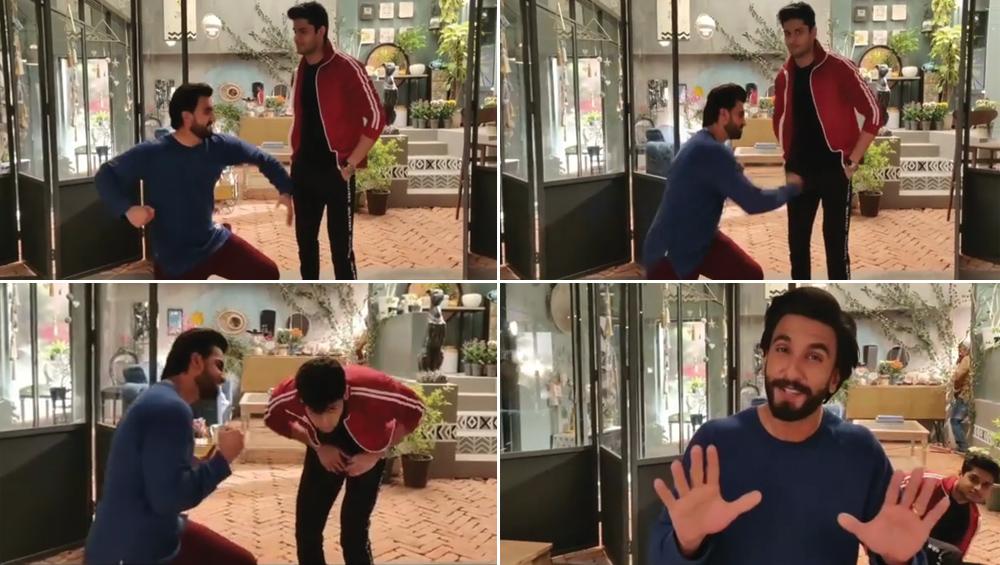 Did Ranveer Singh Punch Mard Ko Dard Nahi Hota Actor Abhimanyu Dassani? Watch Video