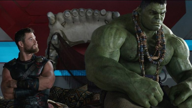 Mark Ruffalo Steals Thor's Hammer And Pillow For A Charity Auction And Chris Hemsworth Has Just One Question, 'Why The Pillow?'