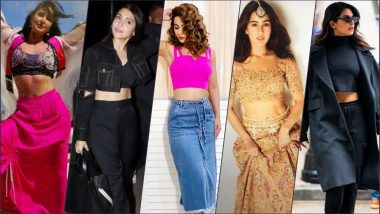 Marvellous Midriffs! Anushka Sharma, Hina Khan, Katrina Kaif, Priyanka Chopra & Sara Ali Khan Show Off Toned Abs in New Pics