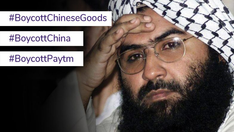 #BoycottChineseProducts Trends on Twitter After China Refuses to Back Declaration of Masood Azhar as Global Terrorist at UNSC