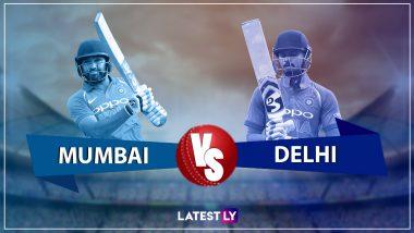 MI 176/10 in 19.2 Overs (Target 214) | MI vs DC Highlights IPL 2019: Delhi Capitals Won by 37 Runs