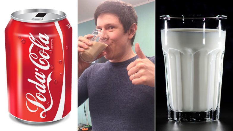 This Man Had 'Milk Coke' And Tried Convincing Twitter It's a 'Real Thing', But Social Media Threw Up