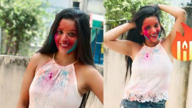Bhojpuri Actress Monalisa Wishes Fans Happy Holi 2019 With a Sultry Photo on Instagram