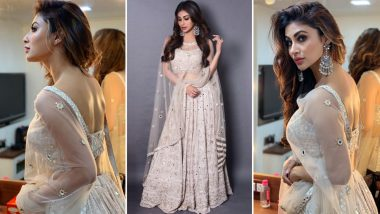 Mouni Roy Looks Ethereal in Traditional Outfit as She Gears Up for Romeo Akbar Walter Promotions - View Pics