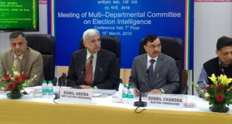 Lok Sabha Elections 2019: 63,449 Poll-Related Posters Removed in Delhi, 181 FIR Registered, Says CEO