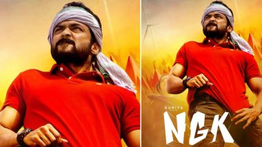 NGK New Poster: Suriya's Mass Hero Look Unveiled on Director Selvaraghavan's Birthday