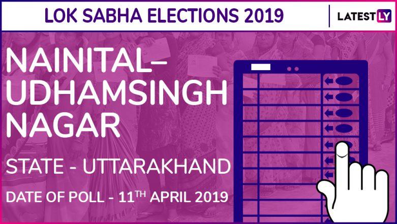 Nainital–Udhamsingh Nagar Lok Sabha Constituency Results 2019 in Uttarakhand: Ajay Bhatt of BJP Wins Parliamentary Election